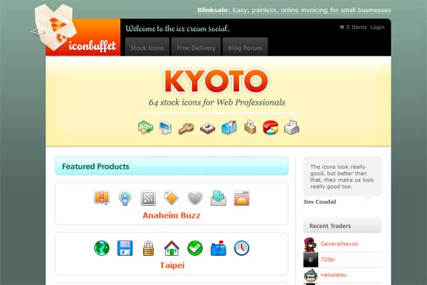 iconbuffet.com screenshot