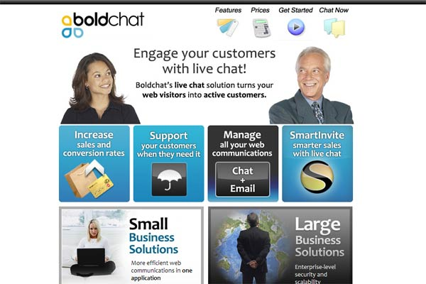 boldchat.com screenshot
